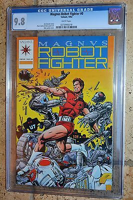 Magnus Robot Fighter #0, CGC 9.8,  rare, white pages