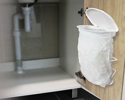 NEW White Magic Hide Away Bin in Cupboard 15 litre capacity