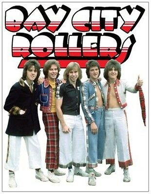 BAY CITY ROLLERS fridge magnet GIANT SIZE!!!!