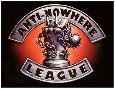 Anti Nowhere League fridge magnet GIANT SIZE!!!!