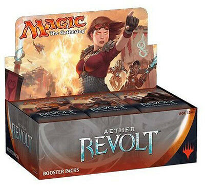 AETHER REVOLT Magic The Gathering Booster Box (Pack of 36) - Pre-Order 20-1-2017