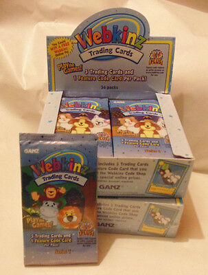 NEW UNOPENED - Harder to Find -  Series 1 - Ganz Webkinz Trading Card Pack