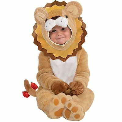 Toddlers Little Roar Baby Lion Cub Fancy Dress Up Costume Outfit Infant Animal