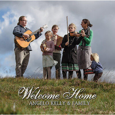 Angelo & Family Kelly - Welcome Home [CD]