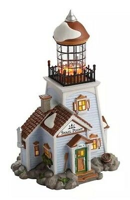 Department 56 New England Village-Snail Point Lighthouse *Retired