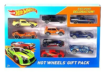 Hot Wheels Pack of 9 Cars Set Gift Pack Styles Vary
