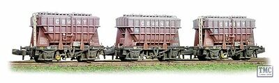377-840 Graham Farish N Gauge 3 Pack 22 T Presflo BR Early Factory Weathered