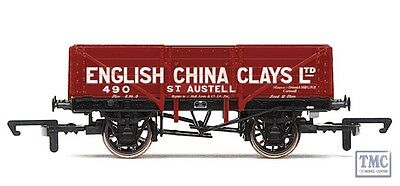 R6666 Hornby OO Gauge English China Clays 5 Plank