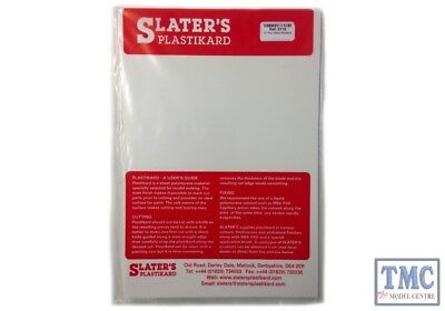 0431 Slaters Rivets White 300mm x 174mm Plastikard