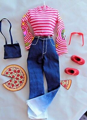 Barbie Fashion Avenue 2001 #50520 Lunch in Little Italy metro outfit set lot