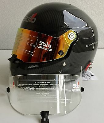 834212e4 Stilo ST5 GT Carbon 60cm RARE Edition Red Iridium Lens/Red HANS Post/Clear