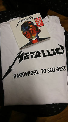 Metallica - HardwiredTo Self-Destruct (Deluxe Edition) 3 CDs + T-Shirt L neu&ovp