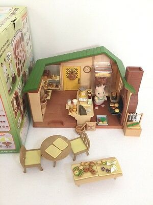 EPOCH Japan Sylvanian Families (Calico Critters US) Watermill Bakery Set in Box
