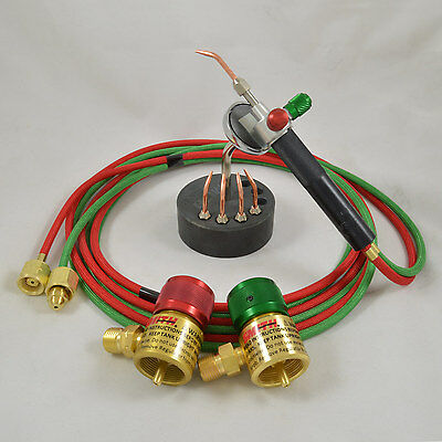 Smith Little Torch Jewelry Soldering Kit With 5 Tips, Regulators, Magnetic Stand