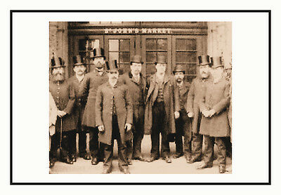 Photo  Of Liverpool Market Constables - Taken From Victorian Image
