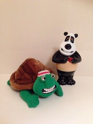 1993 Frank The Tortoise and 1995 Panda from Creature Comforts bundle.