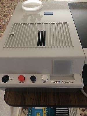 Boots Auto TH Slide Projector