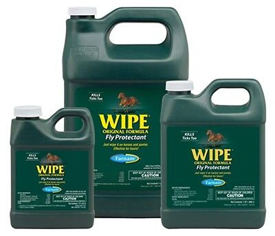 WIPE Fly Gnat Mosquito Repellent Kils on Contact Helps Remove Dirt  Gallon
