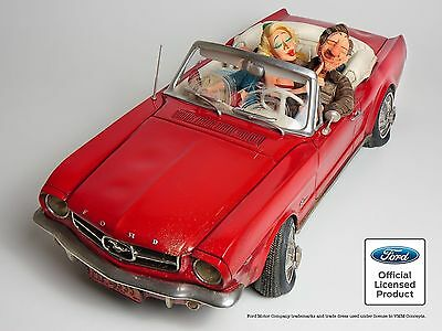 The Comic Art Of Guillermo Forchino 65 Ford Mustang 50% Scale Figurine #85079
