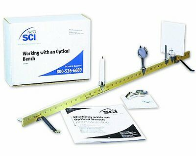 Neo Sci Lab Investigation Working w/ an Optical Bench Kit Each 20-1663