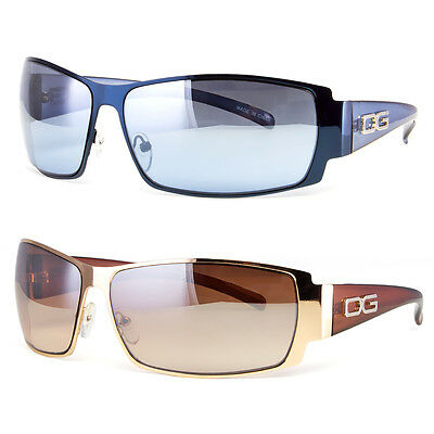 DG Eyewear Womens Mens Shield Designer Sunglasses Shades Fashion Retro Wrap New