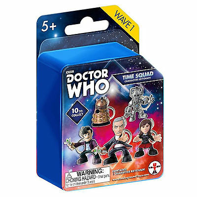 Doctor Who Time Squad Blind Box Character Figure Keychain NEW Toys Keyring
