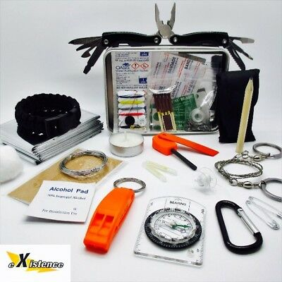 EXTREME SURVIVAL KIT scouts cadets military camping hiking bushcraft EDC