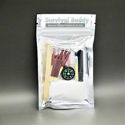 SB MINI EMERGENCY SURVIVAL KIT scouts cadets military camping hiking bushcraft
