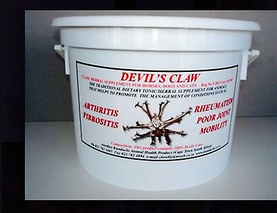 DEVILS CLAW 1 kg GRANULES HERBS FOR HORSES DOGS KUNDUCHI PAIN RELIEF