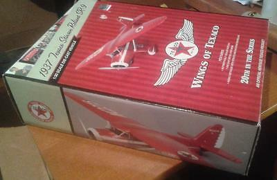 2012 Ertl Wings of Texaco Stinson Reliant SR-9 #20 Diecast Bank NEW SEALED NICE!