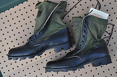 US Military Army JUNGLE BOOTS Spike Protective Men's 8.5 R (Regular) NEW