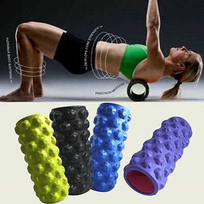 4Colors Foam Roller Grid Sports Massage Physio Injury Yoga Roller New Hot UK