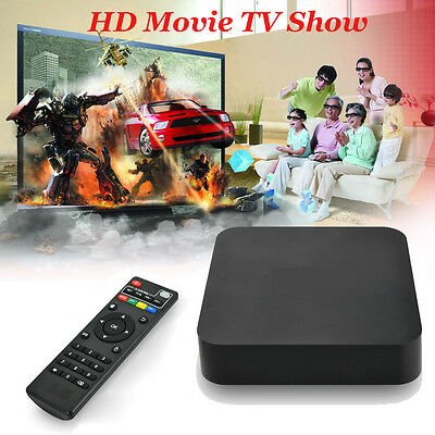 2017 Latest  4K Quad Core Android 5.1 Fully Loaded   WIFI TV Box UK VP*