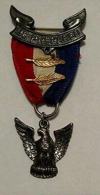 Eagle Scout Medal 1955-1969 Robbins Company Rob 4 BSA Boy Scouts