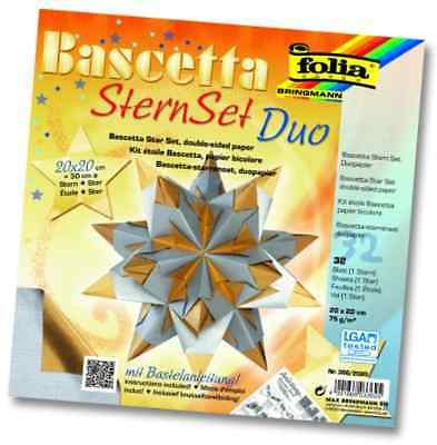 Bascetta SternSet DUO bi-color Sheet 32 for 1 Stern 20cm / 30cm Diameter