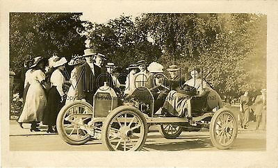 RA614 Early RP POSTCARD -  Vintage Empire Racing Car - Dated 1911