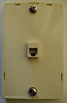 Telephone wall mount Wallphone mounting plate wall phone outlet
