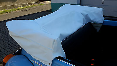 Housse couverture Couvre-capote Volkswagen Coccinelle 1303 Cabriolet blanc,neuf