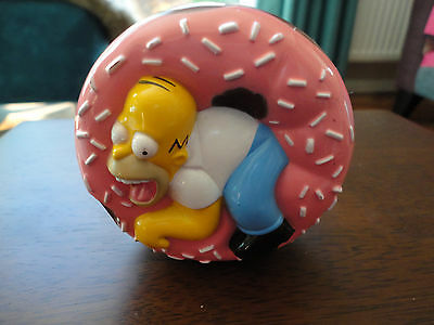 Homer Simpson.The Simpsons Burger King Wind Up Action Set 1998.
