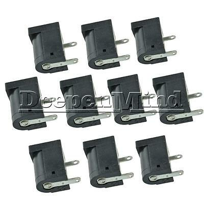 10PCS 5.5x2.1MM 5.5x2.1 Electrical Jack Socket DC-005 Power Outlet Connector