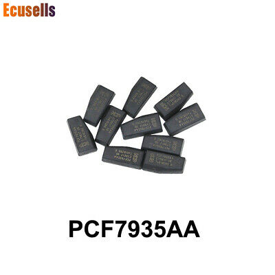 10 PCS, PCF7935AA Transponder Chip(PCF7935AS Updated Version)Car Blank Chip