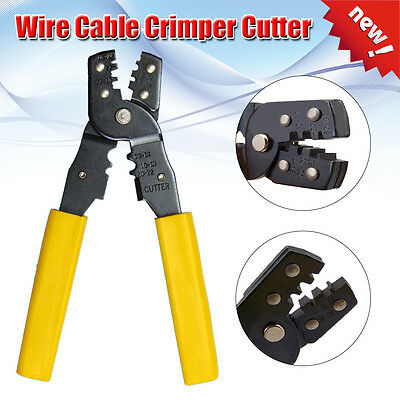 Wire Pliers Insulated Terminals  Crimping Clamp Tools 202B 200mm Electrical Tool