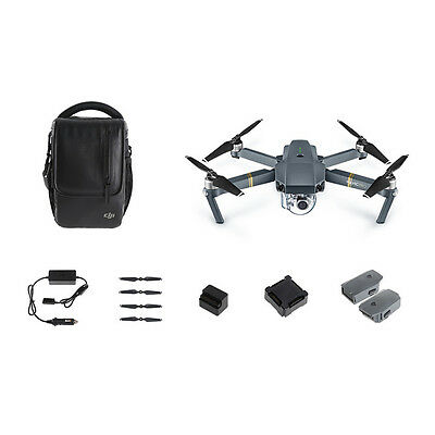 Genuine DJI Mavic Pro Fly More Combo RC Quadcopter Drone + True 4K Camera