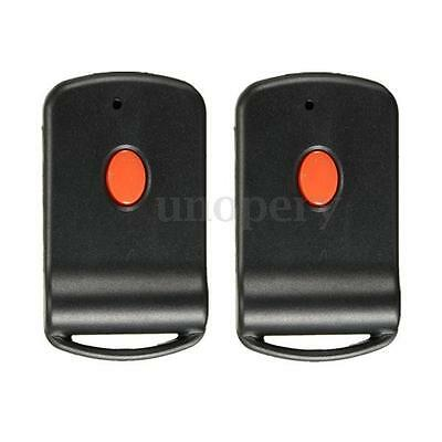 2pcs Mini Remote Garage Transmitter For MultiCode 3060 300mhz 3089 4120 Linear