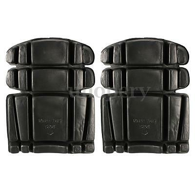 2X Work Wear Knee Pads for Trousers Pants Bib + Brace  Overalls Boiler Suits New
