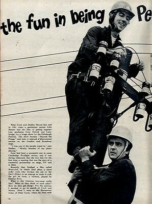 The Fun In Being Peter Cook & Dudley Moore Article & Picture(s)