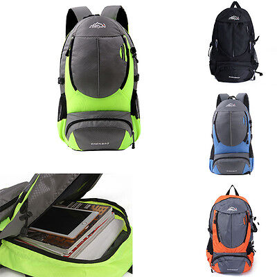 30L Sport Camping Hiking Rucksack Shoulders Bag Climbing Backpack Outdoor Travel