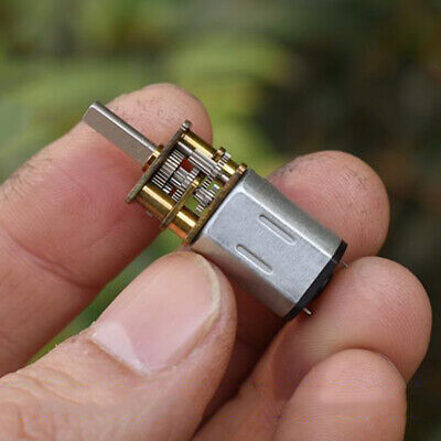 DC 3V 3.7V 92RPM Mini N20 Full Metal Gear Motor Gearbox Slow Speed Large Torque