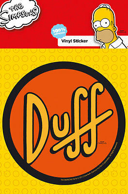The Simpsons / Duff - Sticker