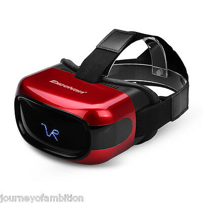Excelvan A5026 All in One VR Headset HD 3D Virtual Reality Glasses Android 5.1